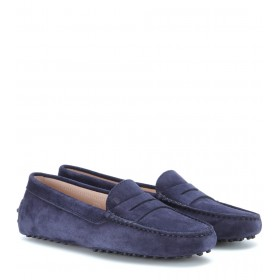 Tod's Shoes Gommino suede loafers P00241157