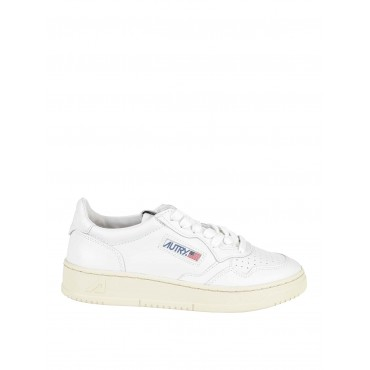 Autry Shoes Low-top leather sneakers inexpensive AULWLL15